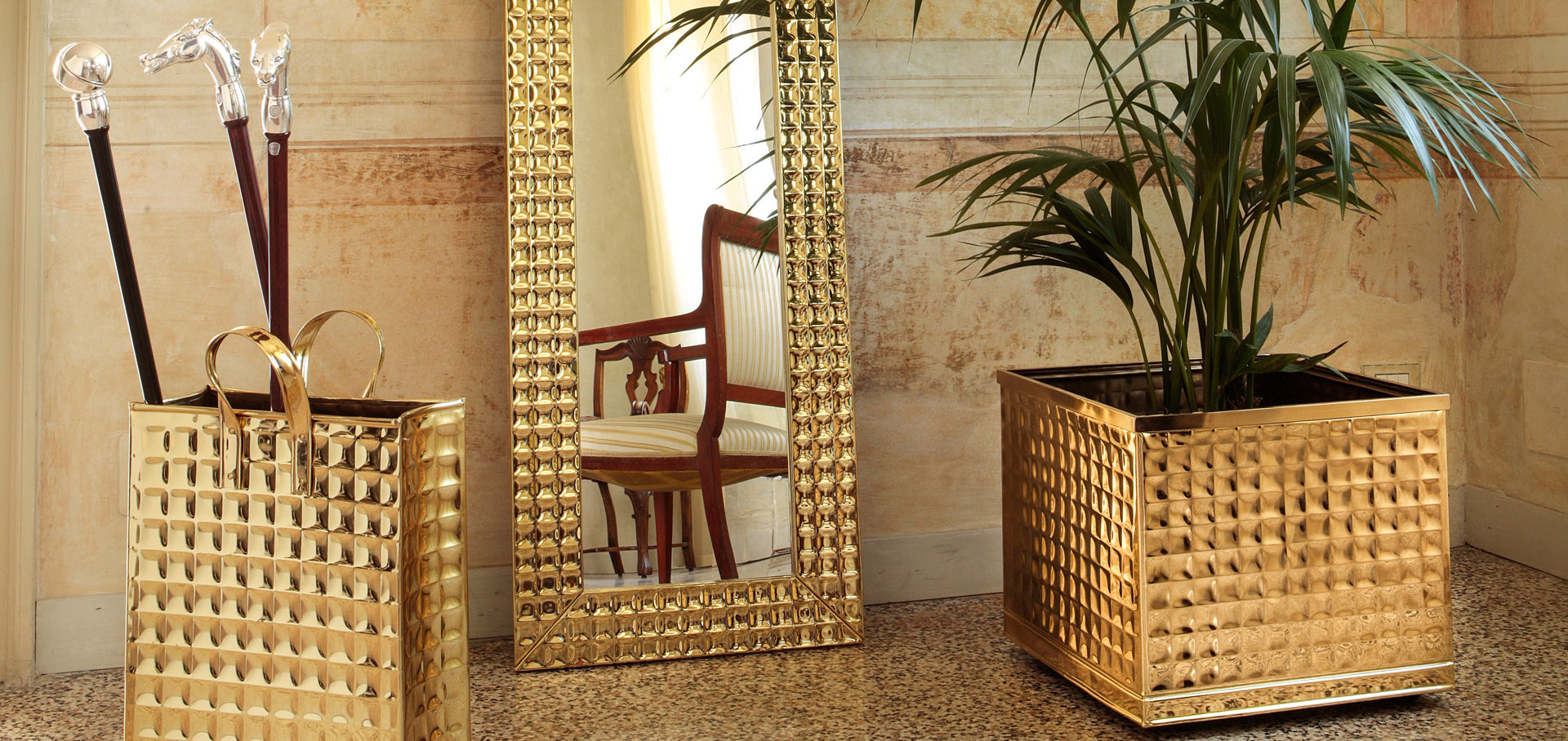 Classic brass furnishing