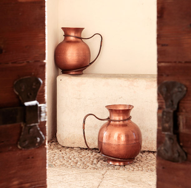 Copper amphorae