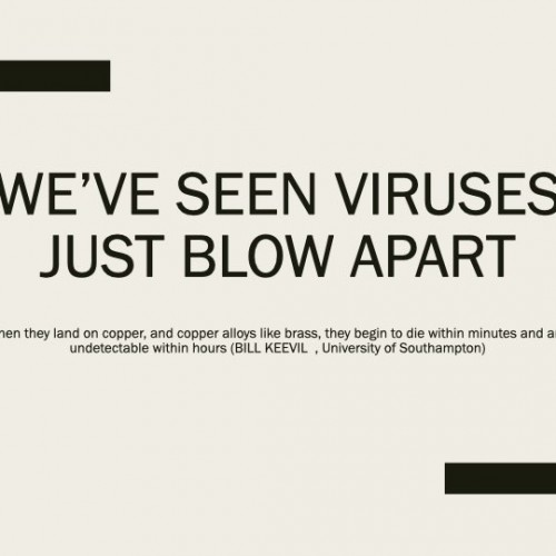 We've seen viruses just blow apart