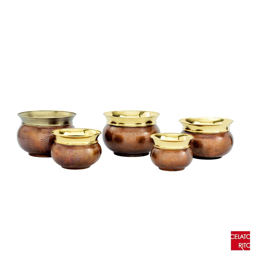 Copper pots CORONA