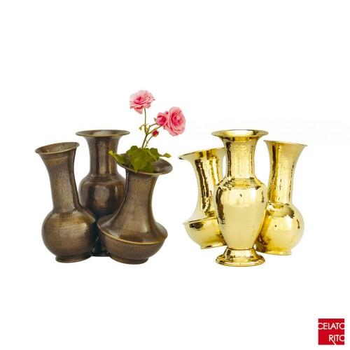 Brass pots TWIN