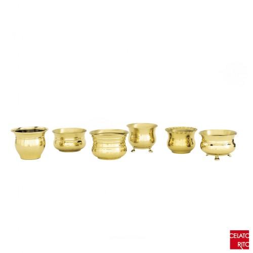 Brass pots GAGGIA