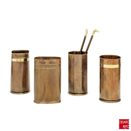 Cretese copper umbrella stands TORINO