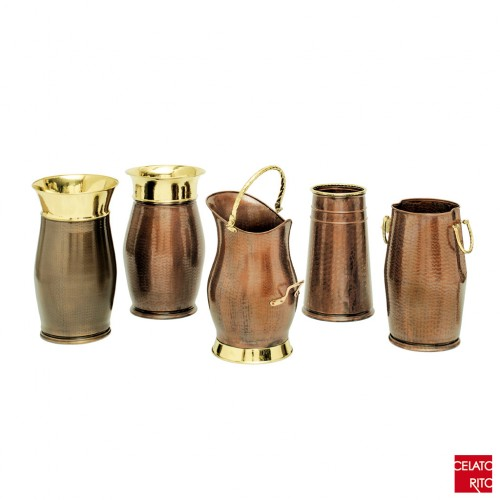 Copper umbrella stands BOLZANO