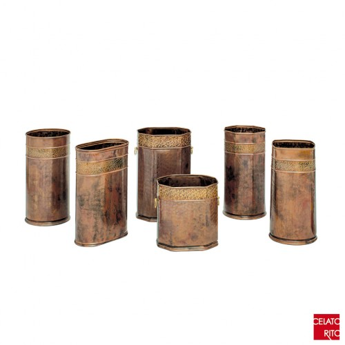 Copper umbrella stands ARABESCO