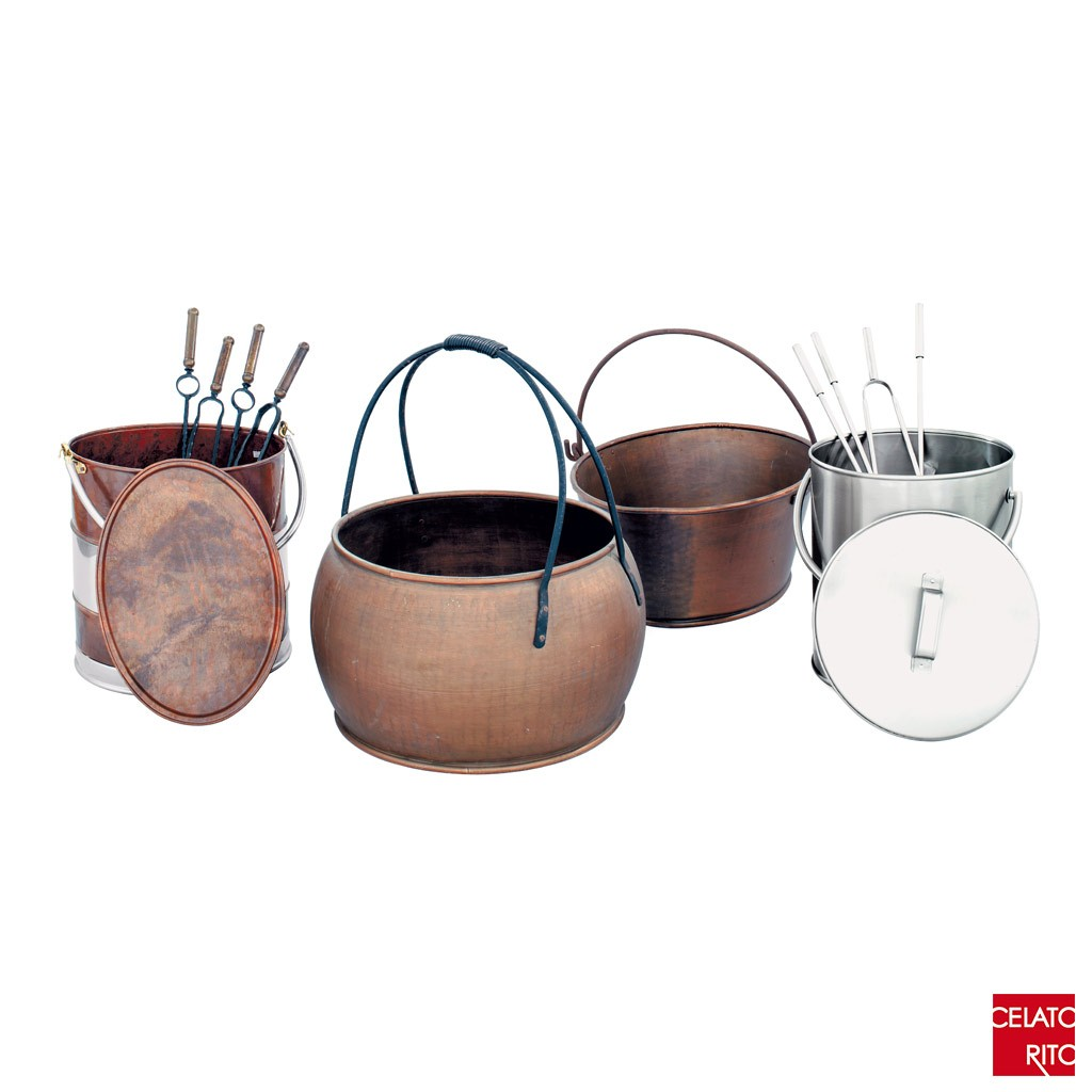 Pellet and firewood holders