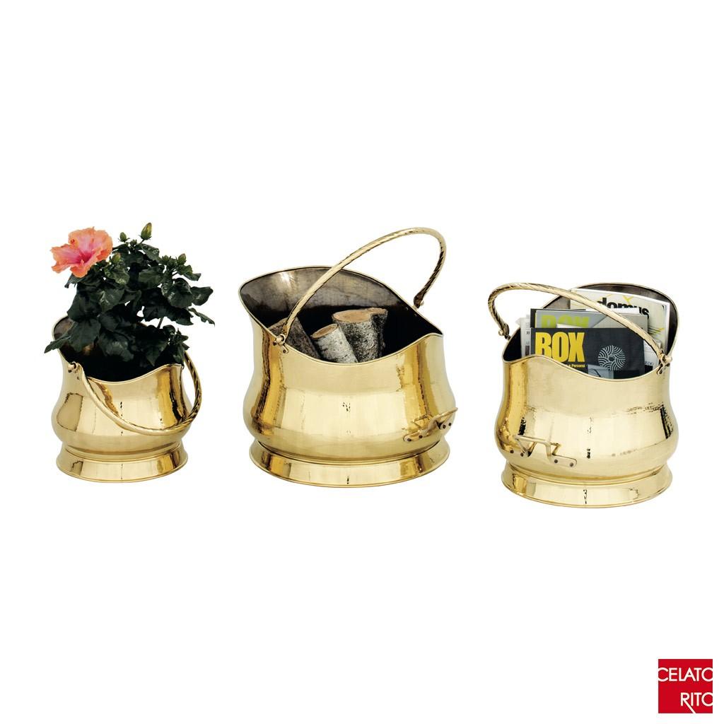 CARBONAIA collection - brass