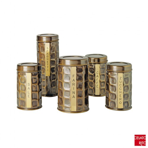 Brass spice racks SPEZIE collection