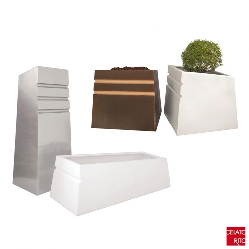 NASCONDINO metal planters