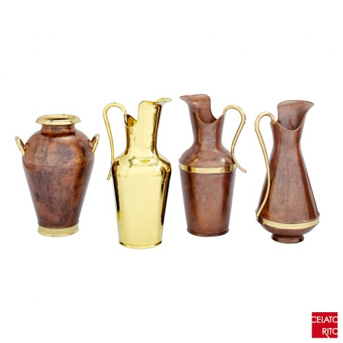 Copper/brass amphorae BOLOGNA