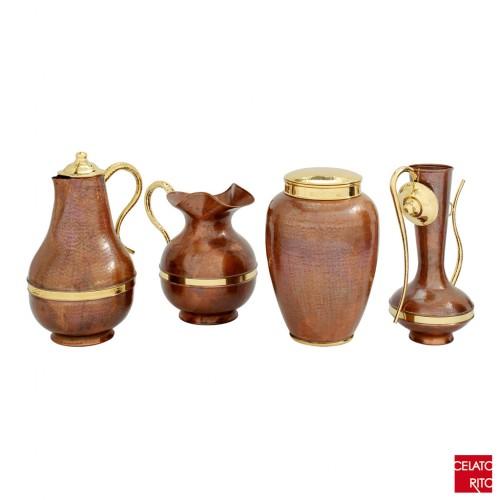 Cretese copper amphorae CAFFETTIERA